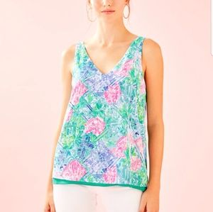 Lilly Pulitzer florin top